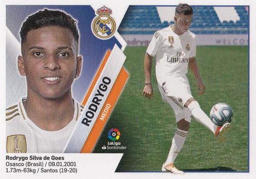 #11B Rodrygo (Real Madrid) Coleccion Liga Este 2019-20 ROOKIE
