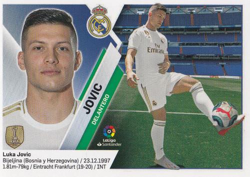 #16 Jovic (Real Madrid) Coleccion Liga Este 2019-20