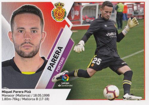 #2 Parera (RCD Mallorca) Coleccion Liga Este 2019-20