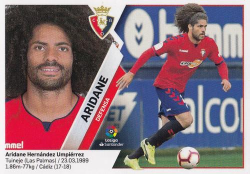 #7A Aridane (CA Osasuna) Coleccion Liga Este 2019-20