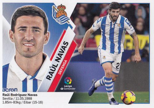 #6 Raul Navas (Real Sociedad) Coleccion Liga Este 2019-20
