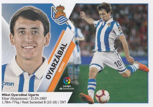 #12 Oyarzabal (Real Sociedad) Coleccion Liga Este 2019-20