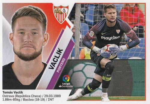 #1 Vaclik (Sevilla FC) Coleccion Liga Este 2019-20