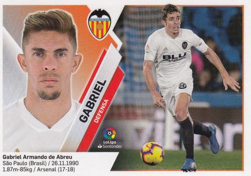 #4 Gabriel (Valencia CF) Coleccion Liga Este 2019-20