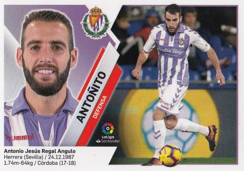 #3 Antonito (Real Valladolid CF) Coleccion Liga Este 2019-20