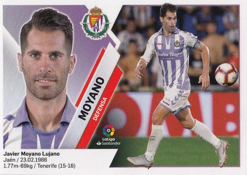 #4A Moyano (Real Valladolid CF) Coleccion Liga Este 2019-20