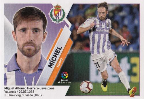 #10 Michel (Real Valladolid CF) Coleccion Liga Este 2019-20
