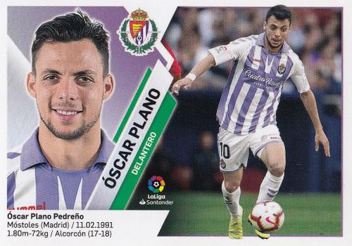 #13 Oscar Plano (Real Valladolid CF) Coleccion Liga Este 2019-20