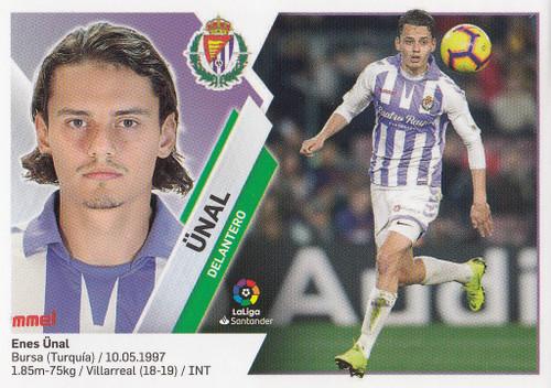 #14 Unal (Real Valladolid CF) Coleccion Liga Este 2019-20
