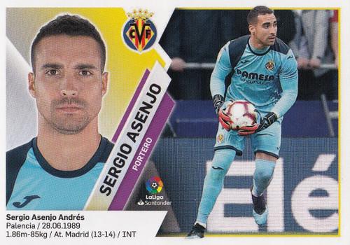 #1 Sergio Asenjo (Villarreal CF) Coleccion Liga Este 2019-20