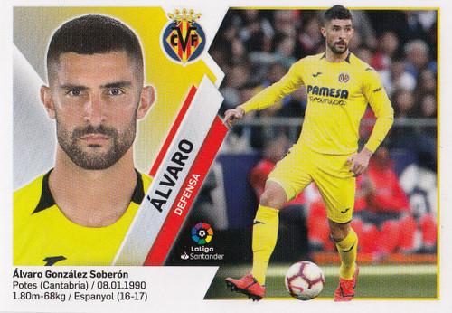 #4 Alvaro (Villarreal CF) Coleccion Liga Este 2019-20
