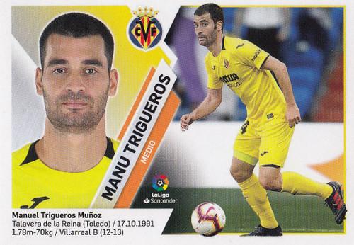 #10 Manu Trigueros (Villarreal CF) Coleccion Liga Este 2019-20
