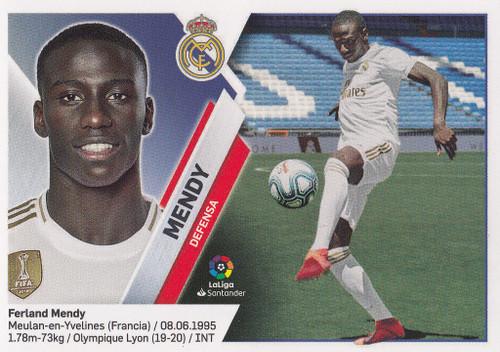 #1 Mendy (Real Madrid) Coleccion Liga Este 2019-20 ULTIMOS FICHAJES