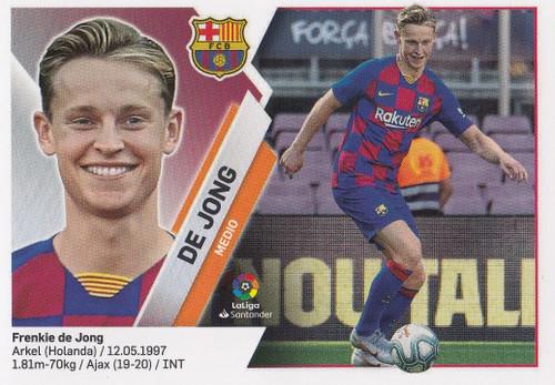 #4 De Jong (FC Barcelona) Coleccion Liga Este 2019-20 ULTIMOS FICHAJES