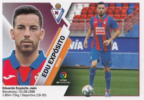 #13 Edu Exposito (SD Eibar) Coleccion Liga Este 2019-20 ULTIMOS FICHAJES