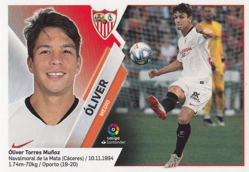 #26 Oliver (Sevilla FC) Coleccion Liga Este 2019-20 ULTIMOS FICHAJES