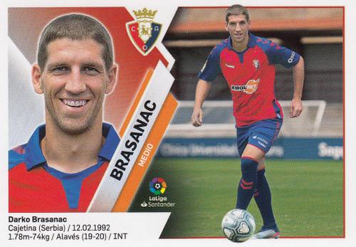 #31 Brasanac (CA Osasuna) Coleccion Liga Este 2019-20 ULTIMOS FICHAJES