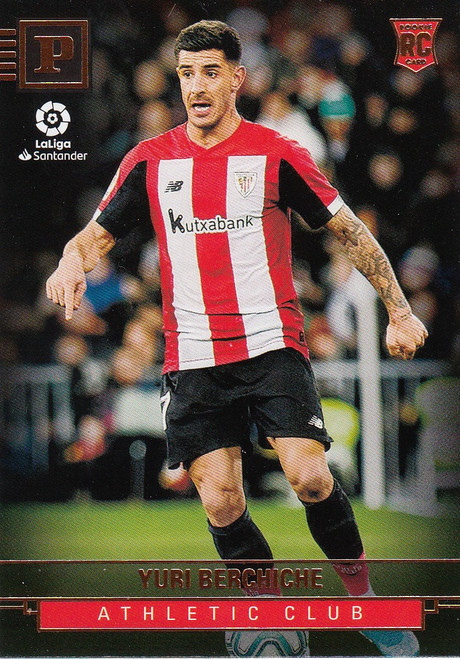 ATHLETIC CLUB BILBAO Yuri Berchiche Panini Chronicles 2019-20 Base Card ROOKIE