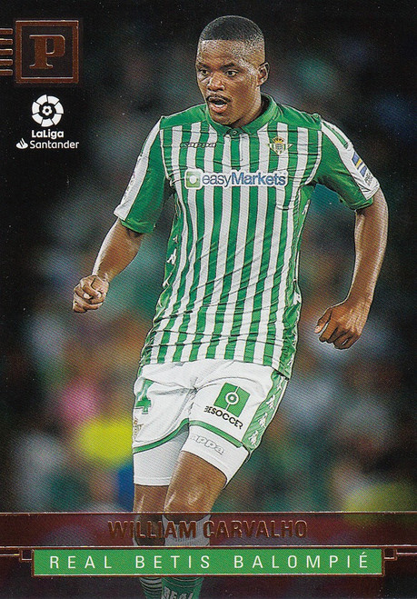 REAL BETIS William Carvalho Panini Chronicles 2019-20 Base Card