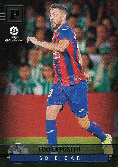SD EIBAR Edu Exposito Panini Chronicles 2019-20 GREEN PARALLEL