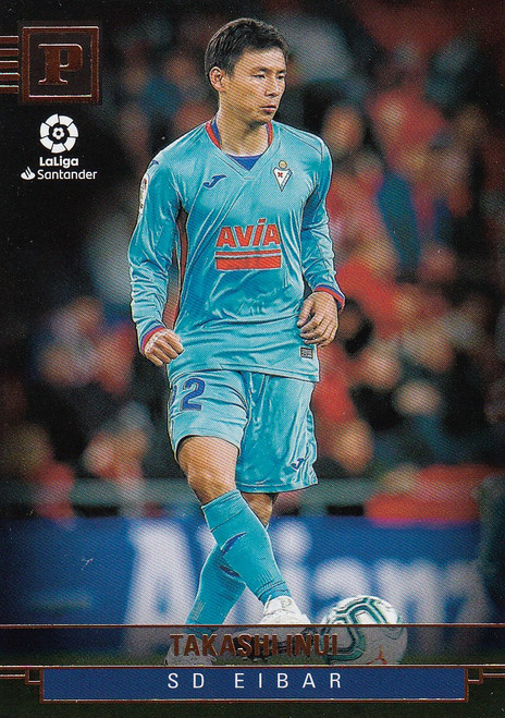 SD EIBAR Takashi Inui Panini Chronicles 2019-20 Base Card