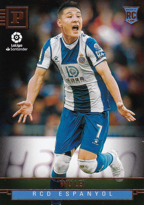 RCD ESPANYOL Wu Lei Panini Chronicles 2019-20 Base Card ROOKIE RC