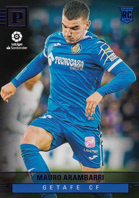 GETAFE CF Mauro Arambarri Panini Chronicles 2019-20 Base Card BLUE ROOKIE RC