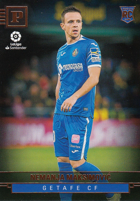 GETAFE CF Nemanja Maksimovic Panini Chronicles 2019-20 Base Card ROOKIE RC