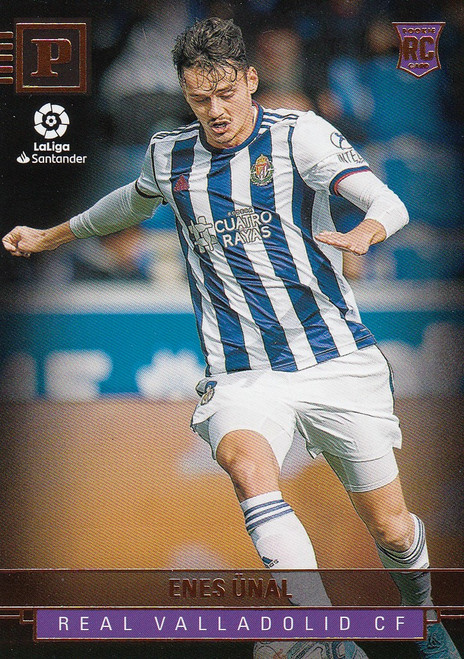 REAL VALLADOLID Enes Unal Panini Chronicles 2019-20 Base Card ROOKIE