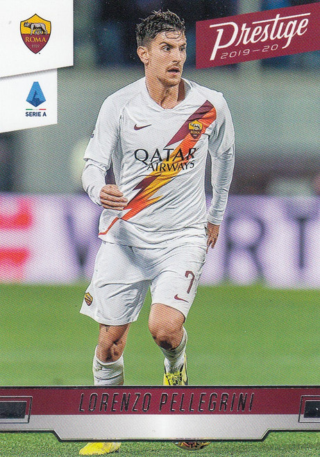 AS ROMA Lorenzo Pellegrini Panini Chronicles 2019-20 Prestige Soccer