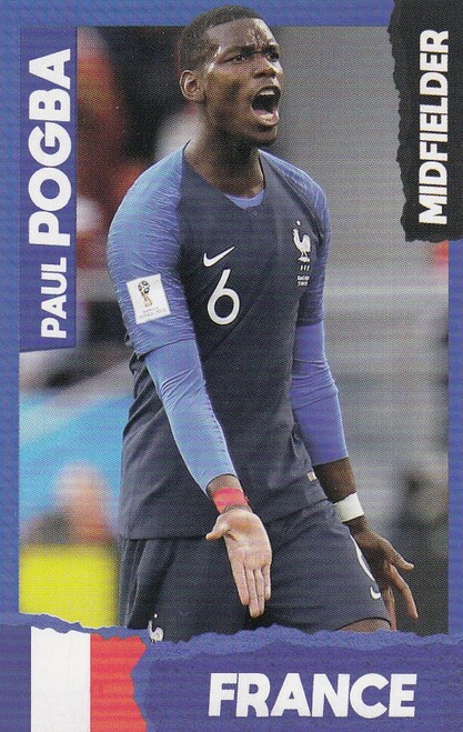 Paul Pogba (Manchester United/ France) Kick Magazine Top Teammates