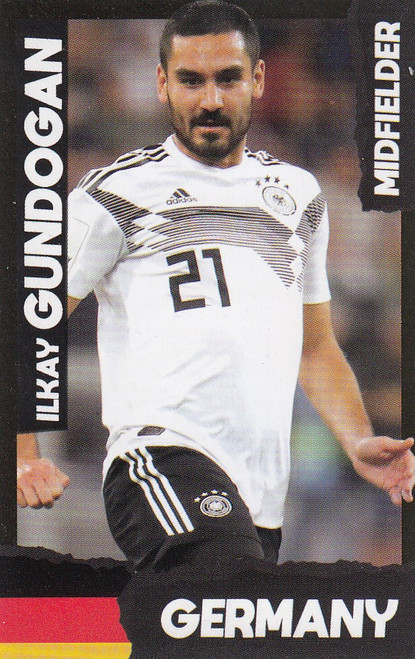 Ilkay Gundogan (Manchester City/ Germany) Kick Magazine Top Teammates
