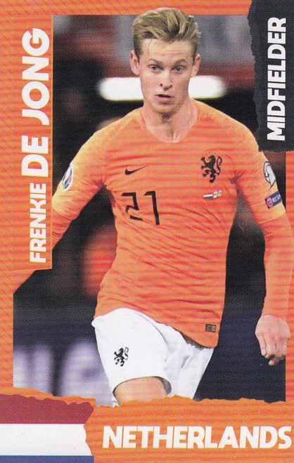 Frenkie De Jong (FC Barcelona/ Netherlands) Kick Magazine Top Teammates