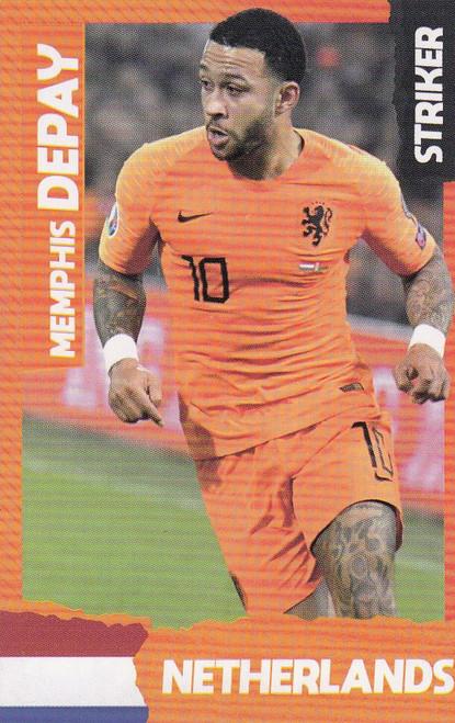 Memphis Depay (Lyon/ Netherlands) Kick Magazine Top Teammates
