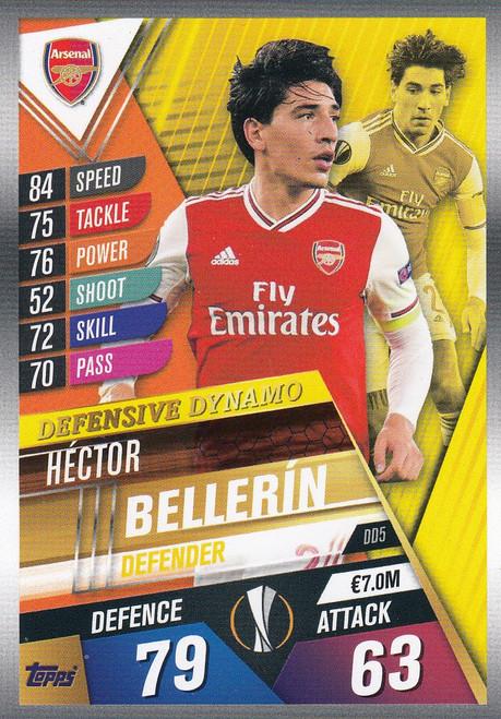 #DD5 Hector Bellerin (Arsenal FC) Match Attax 101 2019/20 DEFENSIVE DYNAMO