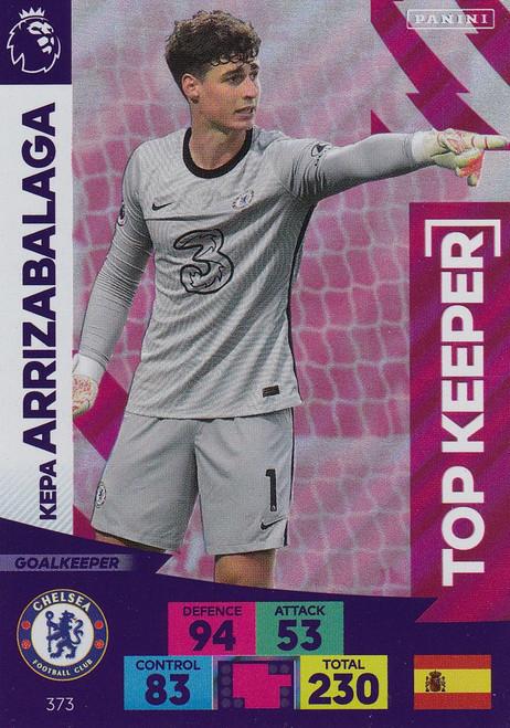 #373 Kepa Arrizabalaga (Chelsea) Adrenalyn XL Premier League 2020/21 TOP KEEPER