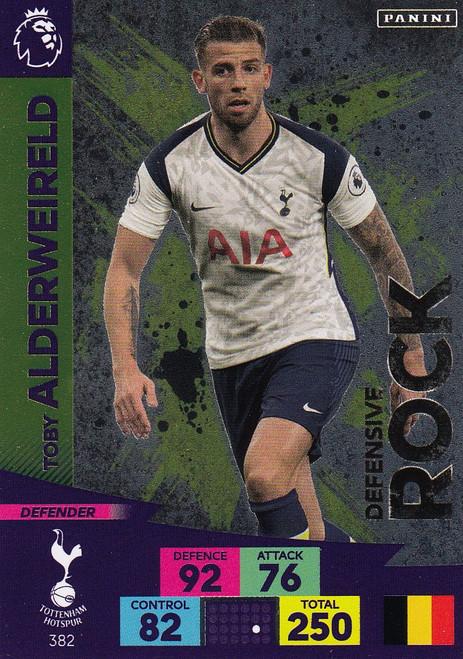 #382 Toby Alderweireld (Tottenham Hotspur) Adrenalyn XL Premier League 2020/21 DEFENSIVE ROCK
