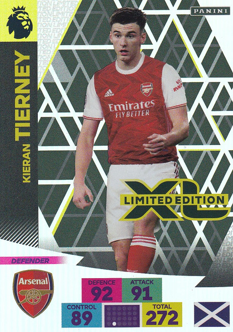 ARSENAL - Kieran Tierney Adrenalyn XL Premier League 2020/21 LIMITED EDITION