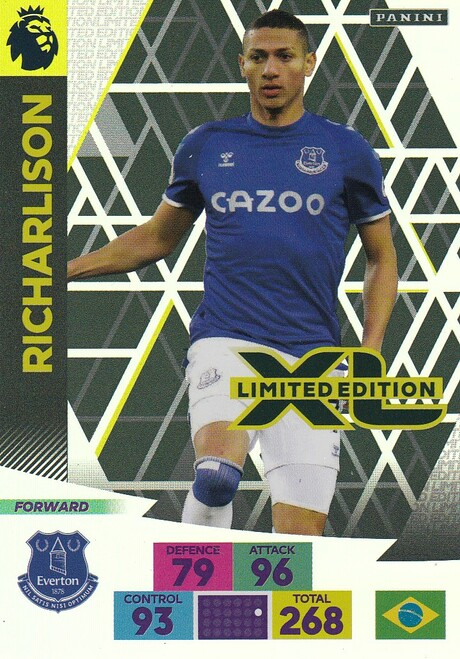 EVERTON - Richarlison Adrenalyn XL Premier League 2020/21 LIMITED EDITION