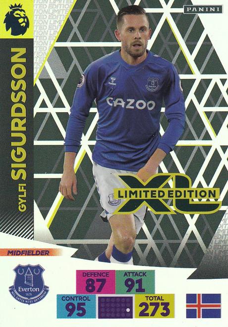 EVERTON - Gylfi Sigurdsson Adrenalyn XL Premier League 2020/21 LIMITED EDITION