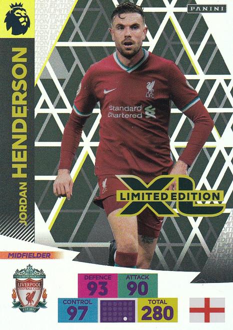 LIVERPOOL - Jordan Henderson Adrenalyn XL Premier League 2020/21 LIMITED EDITION