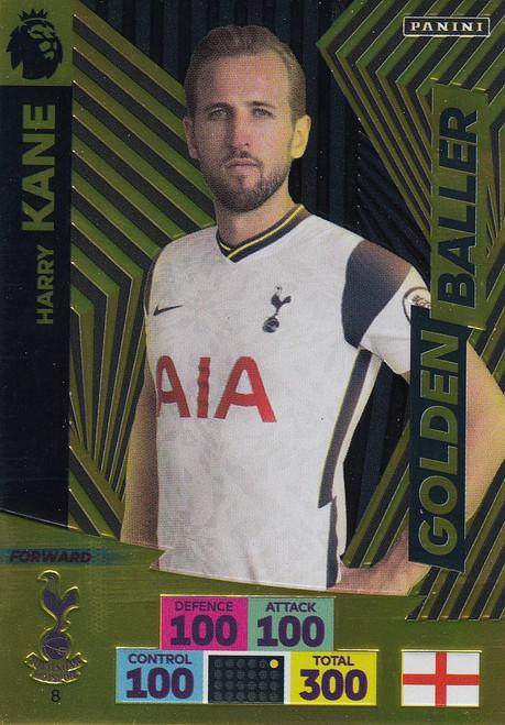 #8 Harry Kane (Tottenham Hotspur) Adrenalyn XL Premier League 2020/21 GOLDEN BALLER