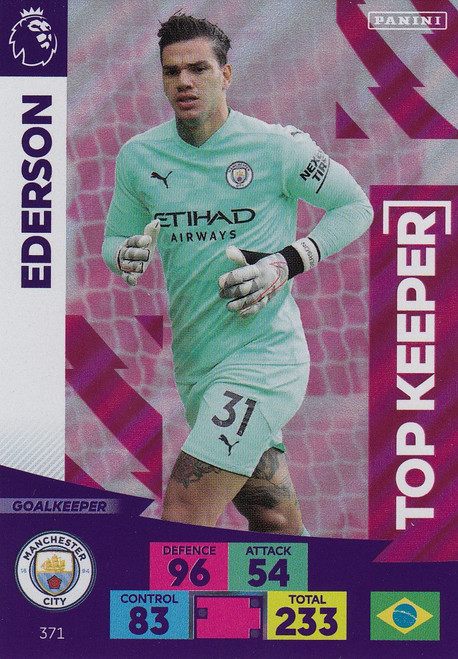 #371 Ederson (Manchester City) Adrenalyn XL Premier League 2020/21 TOP KEEPER