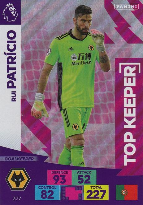 #377 Rui Patricio (Wolverhampton Wanderers) Adrenalyn XL Premier League 2020/21 TOP KEEPER