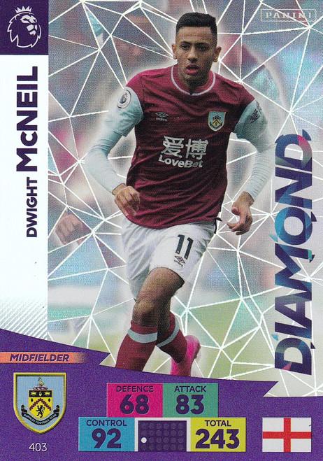 #403 Dwight McNeil (Burnley) Adrenalyn XL Premier League 2020/21 DIAMOND