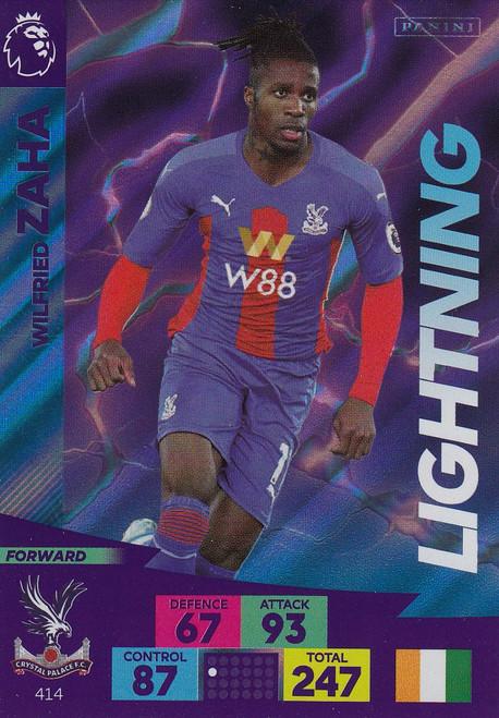 #414 Wilfried Zaha (Crystal Palace) Adrenalyn XL Premier League 2020/21 LIGHTNING