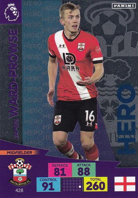 #428 James Ward-Prowse (Southampton) Adrenalyn XL Premier League 2020/21 HERO