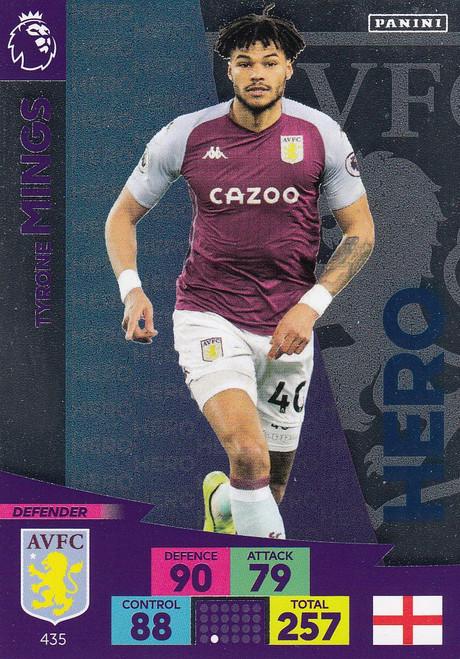 #435 Tyrone Mings (Aston Villa) Adrenalyn XL Premier League 2020/21 HERO
