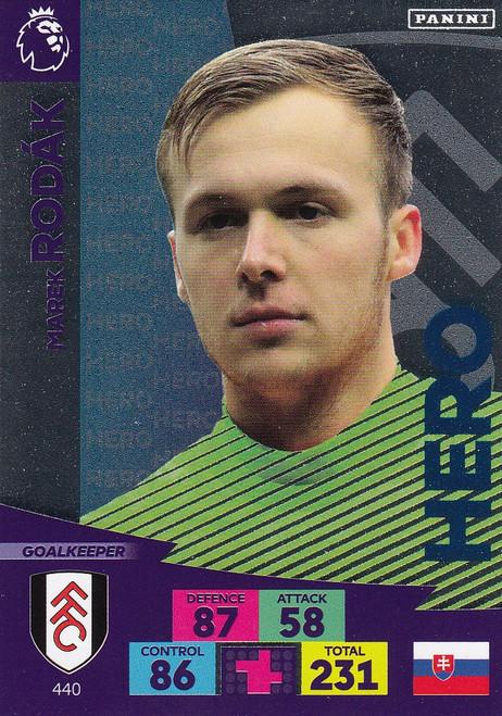#440 Marek Rodak (Fulham) Adrenalyn XL Premier League 2020/21 HERO