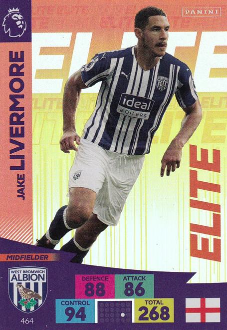 #464 Jake Livermore (West Bromwich Albion) Adrenalyn XL Premier League 2020/21 ELITE